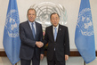 Secretary-General Meets Russian Foreign Minister 2.857782
