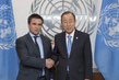 Secretary-General Meets Foreign Minister of Ukraine 2.8584373