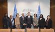 Secretary-General Meets UN Appeals Tribunal Judges 2.857782