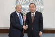 Secretary-General Meets Founder of Open Society Foundations 1.0