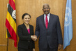 Assembly President Meets Permanent Representative of Viet Nam 1.0