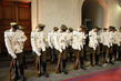Honour Guard at La Moneda Presidential Palace, Santiago