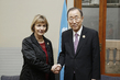 Secretary-General Meets Foreign Minister of Croatia in Santiago