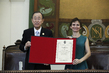 "Secretary-General Receives ""Illustrious Citizen of the City of Santiago"" Decoration 1.0"