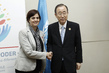 Secretary-General Meets Minister Director of National Service for Women, Chile 1.0