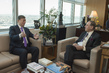 Deputy Secretary-General Meets Chairman of Senate of Kazakhstan