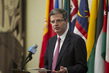 Security Council President Briefs Press on Libya