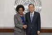 Secretary-General Meets New Head of Francophonie Organisation