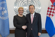Secretary-General Meets President of Republic of Croatia