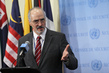 Permanent Representative of Syria Speaks to Press