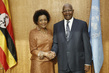 Assembly President Meets Head of La Francophonie 3.2275352