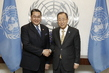 Secretary-General Meets Head of Asian Peace and Reconciliation Council 2.8592467