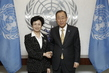 Secretary-General Meets Vice-Chair of China's National Committee on Children and Women 2.8592467