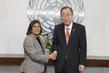 Secretary-General Meets UN Special Rapporteur on Violence against Women 2.8592467