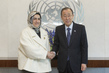 Secretary-General Meets Head of Bahrain's Supreme Council for Women 2.859223