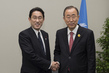 Secretary-General Meets Foreign Minister of Japan 3.754017