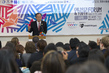 Secretary-General Speaks at Youth Forum in Tohoku University 3.754017