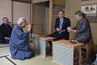 Secretary-General and Mrs. Ban Attend Tea Ceremony 3.754017