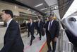 Secretary-General Departs Sendai Via Bullet Train to Tokyo 3.754211