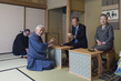 Secretary-General and Mrs. Ban Attend Tea Ceremony 2.2871523