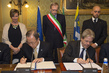 Secretary-General, Foreign Minister of Italy Sign Agreement on UN Staff College 2.2869961