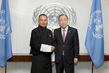Secretary-General Meets Prime Minister of Bhutan 2.8592467