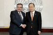 Secretary-General Meets Under-Secretary of State of Finland 2.8592467