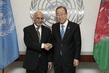 Secretary-General Meets President of Afghanistan 2.8592467