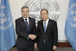 Secretary-General Meets Foreign Minister of Tajikistan