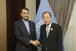 Secretary-General Meets Deputy Foreign Minister of Iran 1.0