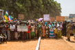 Residents of Ndélé, Central African Republic, during Visit of Interim President 5.026661