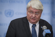 Head of UN Peacekeeping Speaks to Press on Mali Demonstrations 1.0546329