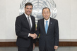 Secretary-General Meets Head of Spanish Socialist Party 2.8575797