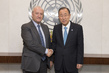 Secretary-General Meets Former Foreign Minister of France 2.8575797