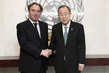 Secretary-General Meets Former Under-Secretary of State of Italy 2.8575797