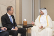 Secretary-General Meets with Prime Minister and Minister for the Interior of the State of Qatar 0.31224644