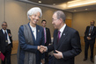 Secretary-General Meets Managing Director of IMF