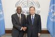 Secretary-General Meets New Permanent Representative of Barbados 2.8542948