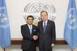 Secretary-General Meets New Permanent Representative of Malaysia 2.8542948