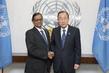 Secretary-General Meets New Permanent Representative of Sri Lanka 2.858094