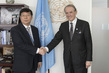 Deputy Secretary-General Meets Vice President of UNA-China 7.21674