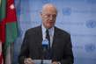 UN Special Envoy for Syria Briefs Press 1.1834432