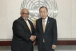 Secretary-General Meets UN Envoy on Tuberculosis