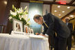 Secretary-General Signs Condolence Book for UNICEF Staff 1.0