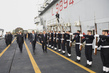 Secretary-General Visits Italian Naval Ship San Giusto