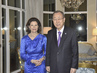 Secretary-General Meets Queen of Sweden in Rome