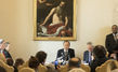 Secretary-General Addresses Press in Vatican City