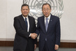 Secretary-General Meets Special Rapporteur on Human Rights in DPRK