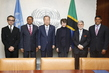 Secretary-General Meets Members of High-level Panel on Health Crises 2.856689