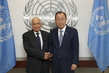 Secretary-General Meets Head of Arab League 2.856689